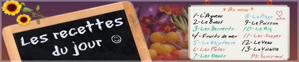 Free Marinades Recipes: Les recettes du jour: recettes gratuites!